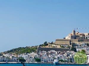 Ausblick auf Ibiza-Dalt Villa